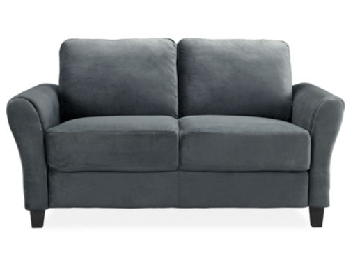jcpenney.com | Westin Microfiber Rolled Arm Loveseat