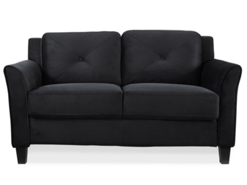 jcpenney.com | Hartford Microfiber Curved Arm Loveseat