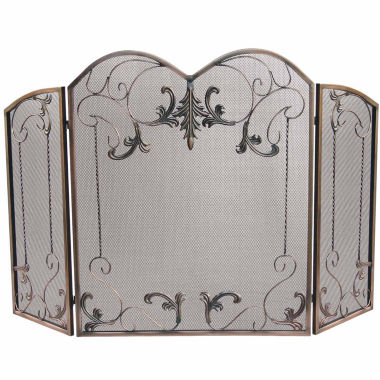 jcpenney.com | Blue Rhino 3 Panel Venetian Bronze Fireplace Screen
