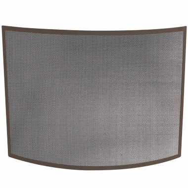 jcpenney.com | Blue Rhino Single Panel Curved Bronze Fireplace Screen