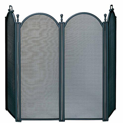 Blue Rhino 4 Panel Woven Mesh Fireplace Screen