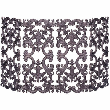 jcpenney.com | Blue Rhino 4 Fold Bronze Cast Aluminum Fireplace Screen