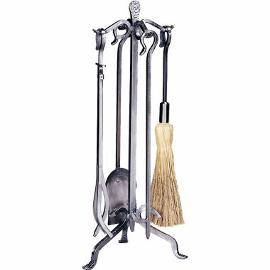 jcpenney.com | Blue Rhino Pewter Wrought Iron Fireplace Tool Set