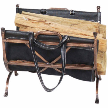 jcpenney.com | Blue Rhino Antique Copper Wrought Iron Log Rack