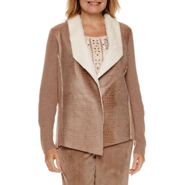 jcpenney.com | Alfred Dunner Twilight Point Moleskin Jacket