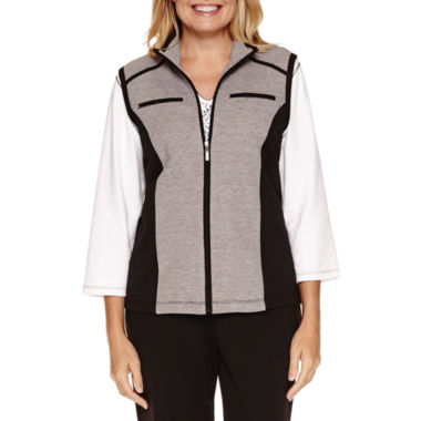 jcpenney.com | Alfred Dunner Casual Friday French Terry Vest