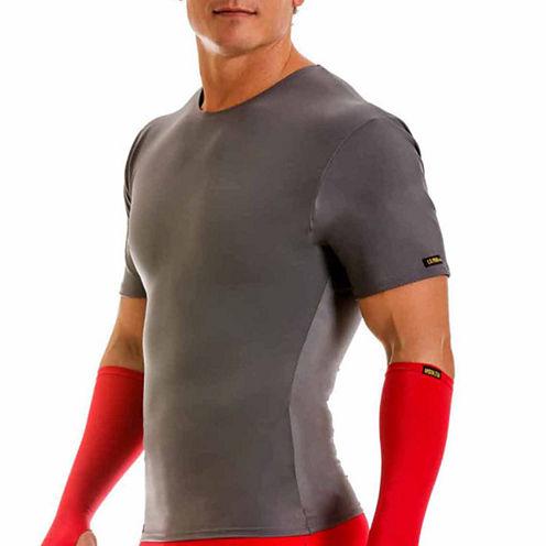 Insta Slim Men's Compression Crew Neck Shirt