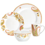 Rachael Ray® 4-pc. Paisley Dinnerware Set