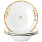 Rachael Ray® Set of 4 Paisley Pasta Bowls