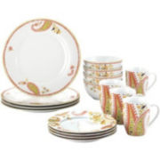 Rachael Ray® Paisley 16-pc. Dinnerware Set