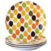 Rachael Ray® Set of 4 Little Hoot Salad Plates
