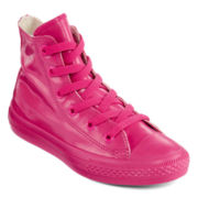 Converse® Chuck Taylor All-Star Rubber Girls High-Top Sneakers - Little Kids