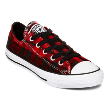 jcpenney.com | Converse Chuck Taylor All Star Plaid Boys Sneakers - Little Kids/Big Kids