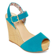 Arizona Emma Ankle-Strap Wedges