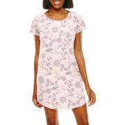 Liz Claiborne® Short-Sleeve Nightshirt