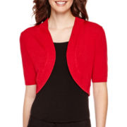 Worthington® Short-Sleeve Bolero Shrug