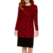 R&K Originals® Jacquard Jacket and Skirt Set