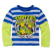 Teenage Mutant Ninja Turtles Long-Sleeve Tee - Toddler Boys 2t-5t