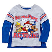Paw Patrol Long-Sleeve Graphic Tee with Cape - Toddler Boys 2t-5t