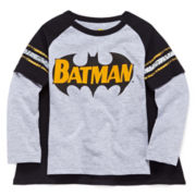 Batman Long-Sleeve Graphic Tee with Cape - Toddler Boys 2t-5t