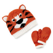 Carter's® Tiger Hat and Mittens Set - Baby Boys 3m-9m