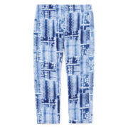 Arizona Printed Capri Leggings - Girls 7-16 and Plus
