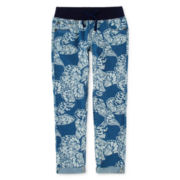 Arizona Knit-Waist Cropped Jeans - Girls 7-16 and Plus