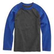 Arizona Long-Sleeve Raglan Tee - Preschool Boys 4-7