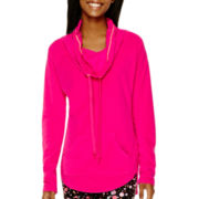 City Streets® Cowlneck Polar Fleece Tunic