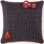 Frank and Lulu Ladder 23 Square Decorative Pillow