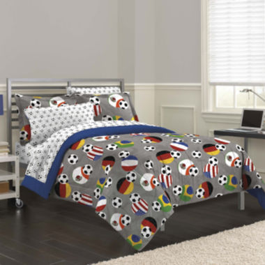 jcpenney.com | My Room Soccer Fever Complete Bedding Set with Sheets