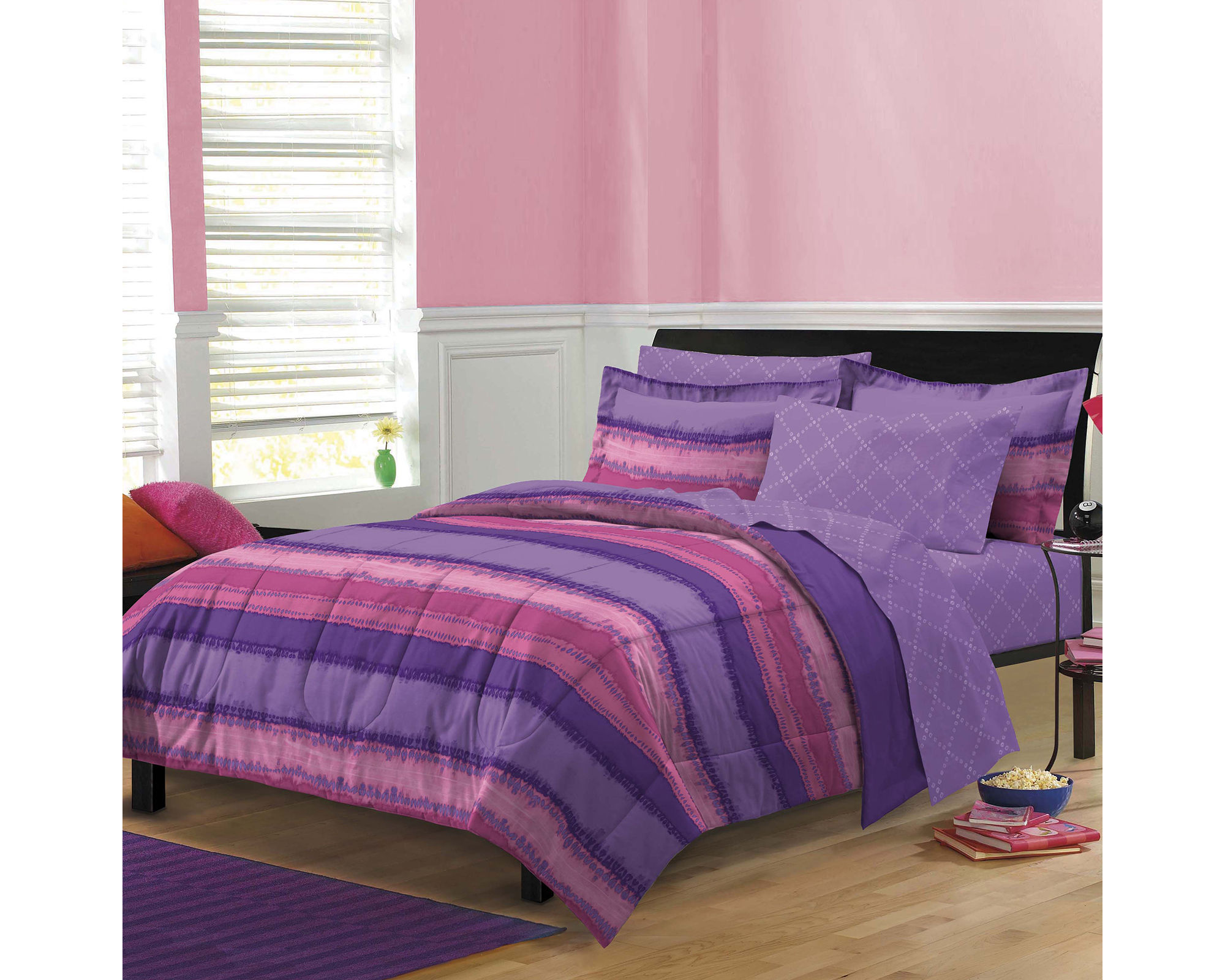 My Room Tie - Dye Complete Bedding Set with Sheets