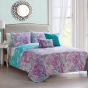 Victoria Classics Avra Paisley Quilt Set