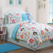 Victoria Classics Mermaid Reversible Complete Bedding Set with Sheets