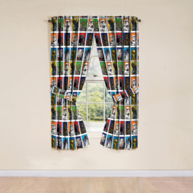 jcpenney.com | Star Wars™ 2-Pack Rod-Pocket/Back-Tab Curtain Panels