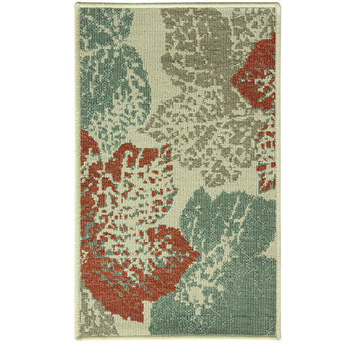 Bacova Leaf Fossil Rectangular Rug