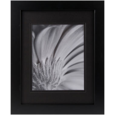 jcpenney.com | Black with Black Gallery Matted Picture Frame