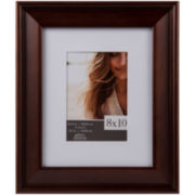Walnut Slant Picture Frame