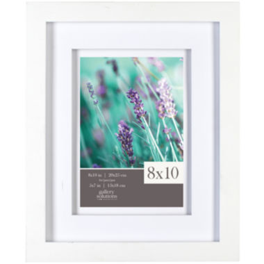 jcpenney.com | White with White Airfloat Matted Picture Frame