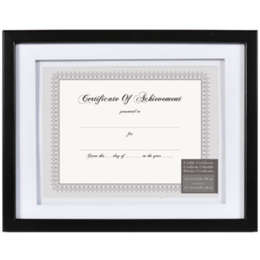 jcpenney.com | Airfloat Matted Document and Certificate Frame