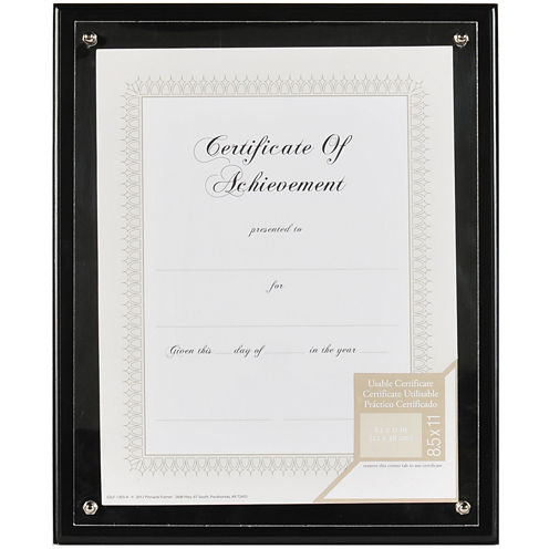 Plaque Document and Certificate Frame