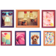 7-pc. Multi-Colored Picture Frame Set