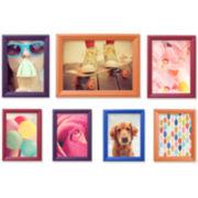 7-pc. Multi-Colored Picture Frame Set