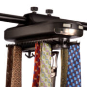 Honey-Can-Do® Extra-Large Battery-Powered Tie/ Belt Organizer