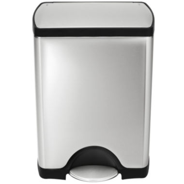 jcpenney.com | simplehuman® 30L Rectangular Step Trash Can in Brushed Stainless Steel