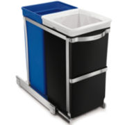 simplehuman® 35L Pull-Out Recycler