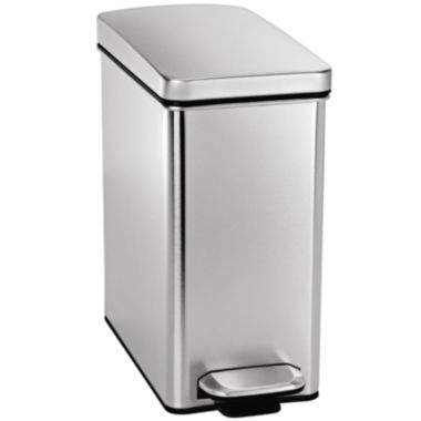 jcpenney.com | simplehuman® 10L Profile Step Trash Can In Brushed Stainless Steel