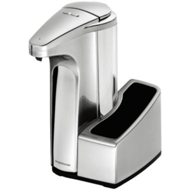 jcpenney.com | simplehuman® 13-oz. Sensor Pump Soap Dispenser with Caddy in Brushed Nickel