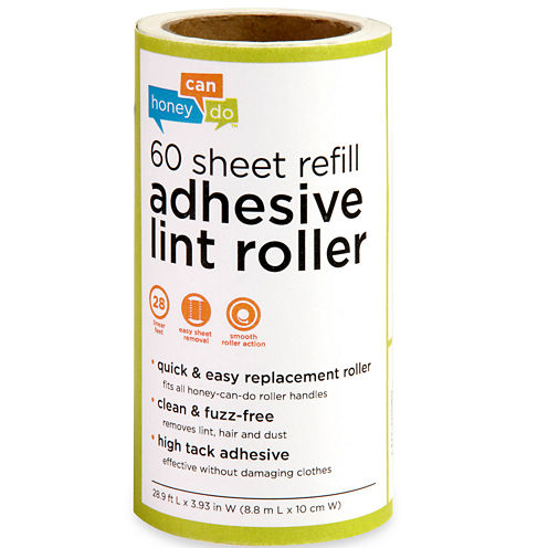 Honey-Can-Do® 6-Pack 60-Sheet Adhesive Lint Roller Refill