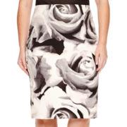 Worthington® Scuba Pencil Skirt - Plus